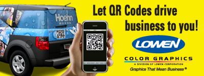 Let QR Codes drive business to you!